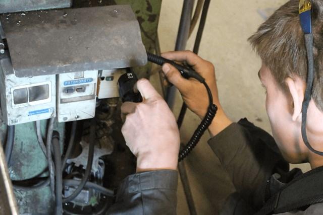 Inspectie machines cursus