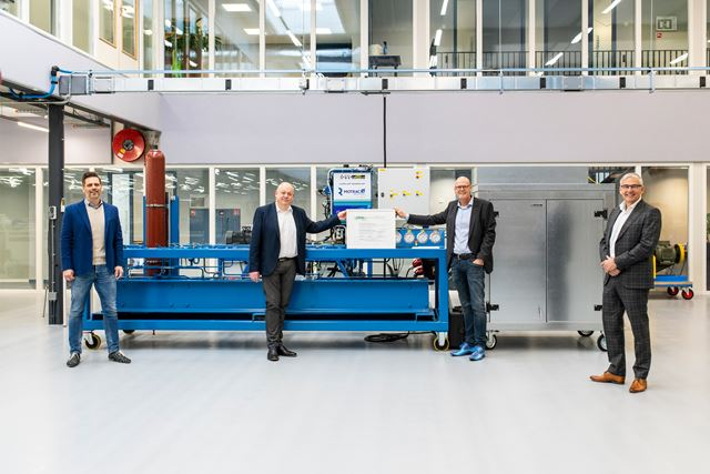 ROVC erkend als CETOP Approved Education Centre voor Hydrauliek level 3